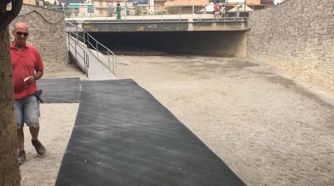 Sottopasso rio Ranzi Pietra Ligure