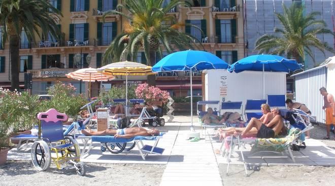 Spiaggia disabili Santa Margherita