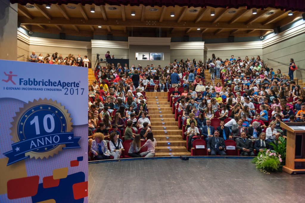 Fabbriche Aperte 2017 Premiazione Cairo