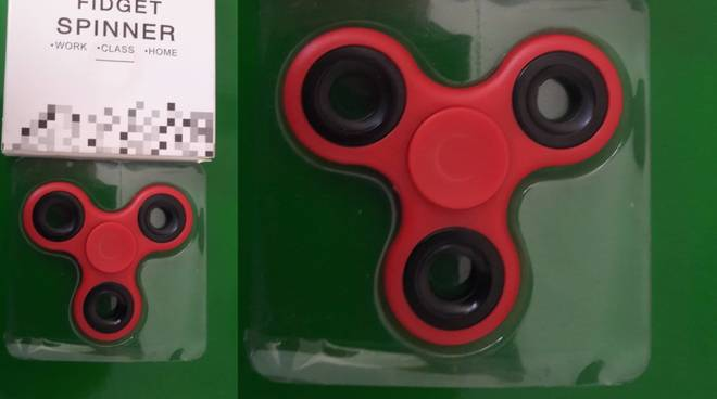 Fidget Spinner Finale Ligure Sequestro