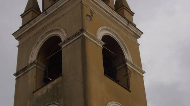 Fulmine Chiesa Annunziata Spotorno