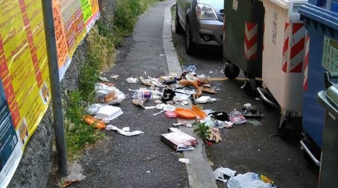 Villapiana sommersa dai rifiuti