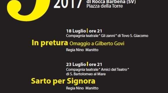 3 sotto la Torre teatro dialetto Castelvecchio di Rocca Barbena