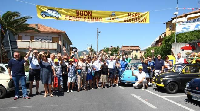 Il messaggio d'auguri di Lapo Elkann per la Fiat 500