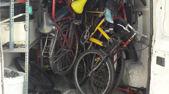 biciclette abbandonate