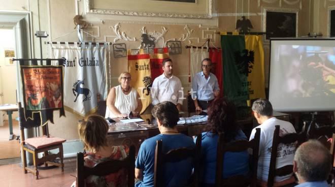 Albenga. la presentazione del Palio 2017