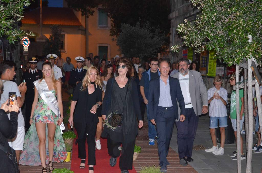 Andora Red Carpet Veronica Pivetti