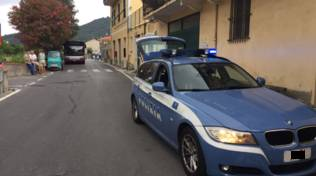 calvisio polizia incidente scooter