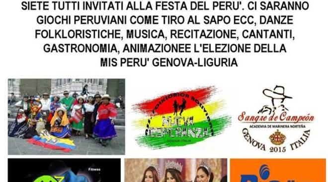 Tutti a Villa Scassi per la festa peruviana