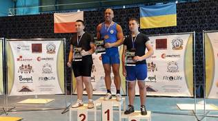 Kettlebell: Christian Borghello primo a Uzhgorod, Ucraina