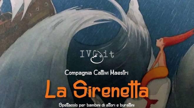 Stasera a Sassello: La Sirenetta de I Cattivi Maestri