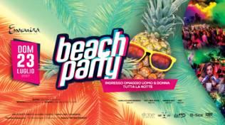 Beach Party, Ingresso Omaggio Per Tutti