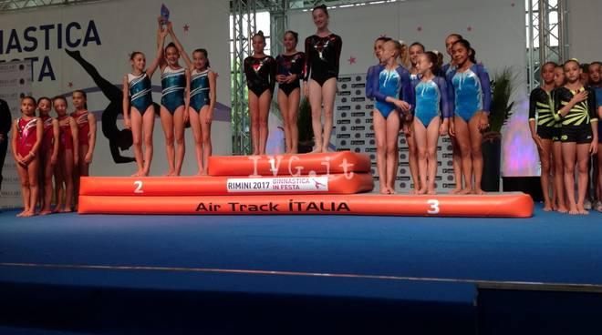 A Rimini la Ginnastica Pietrese conquista il podio!
