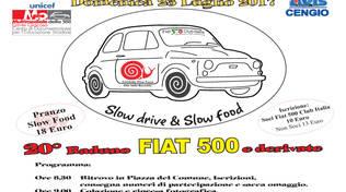 20° Raduno Fiat 500 Cengio