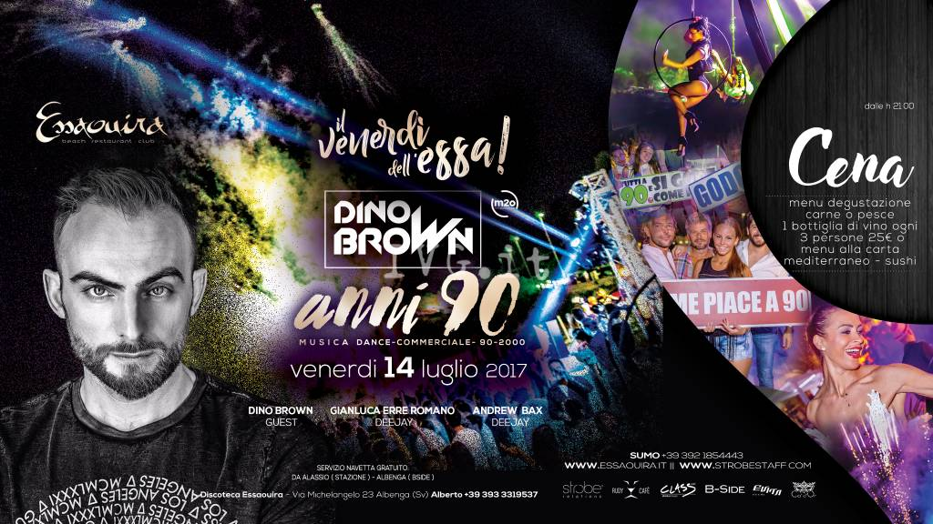 Guest Dj : Dino Brown From M20