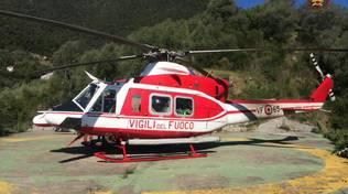Elicottero Vigili Fuoco Soccorso