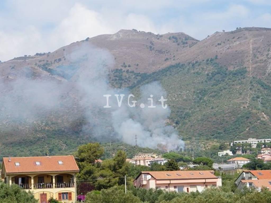 Incendio Boschivo Peagna