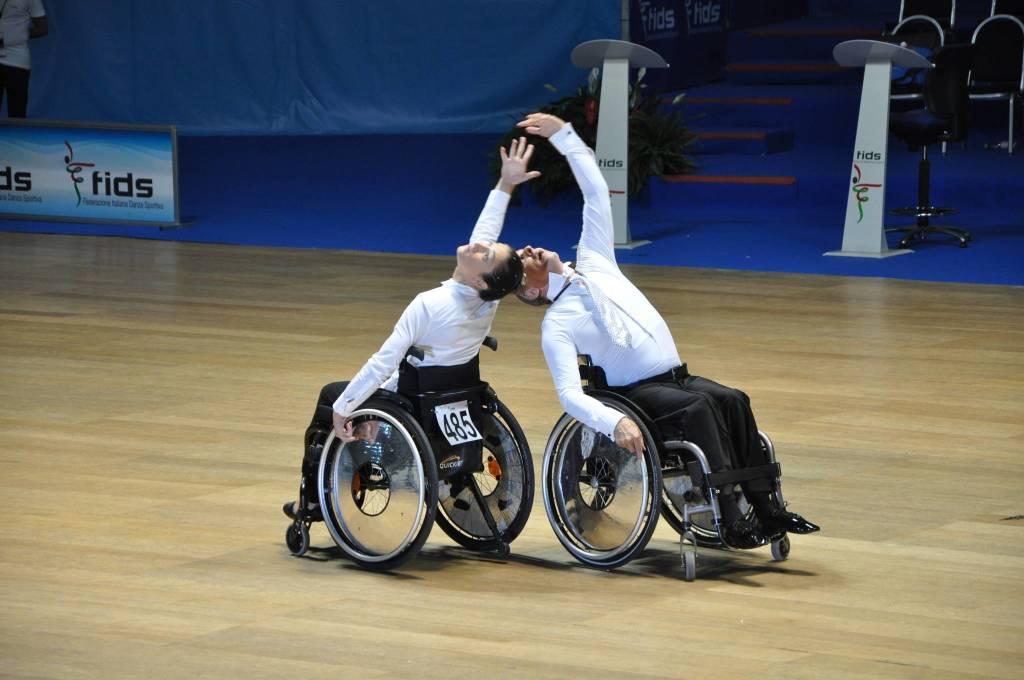 danza sportiva paralimpica