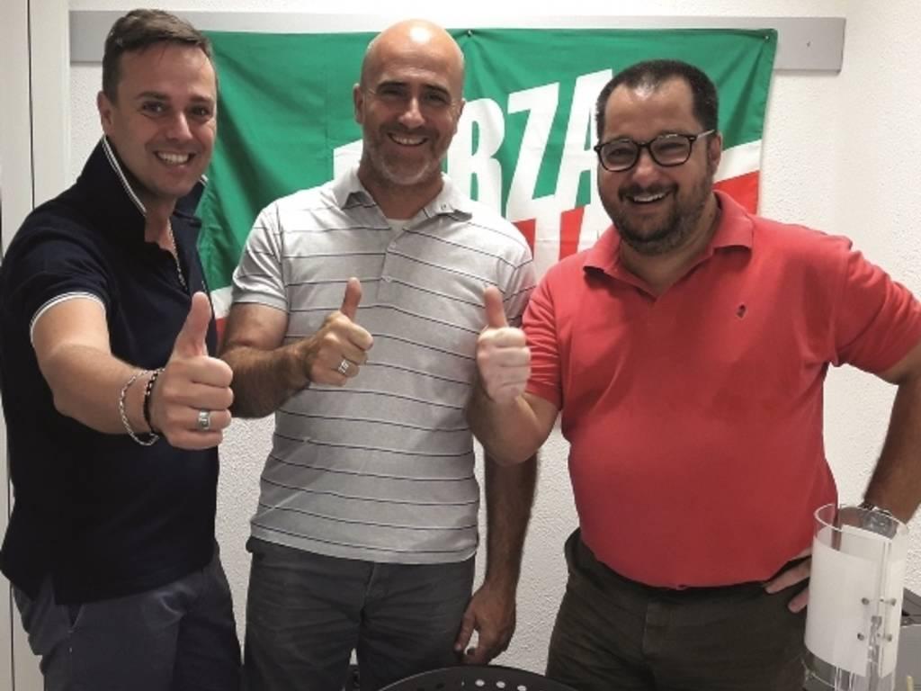 Eraldo Ciangherotti Nicola Podio Roberto Tomatis Forza Italia Albenga