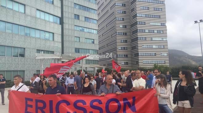 Nuovo sciopero Ericsson, domani il presidio alla sede degli Erzelli