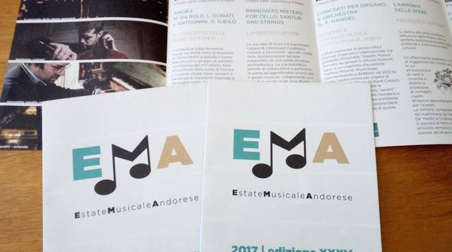 Estate Musicale Andorese nuovo logo