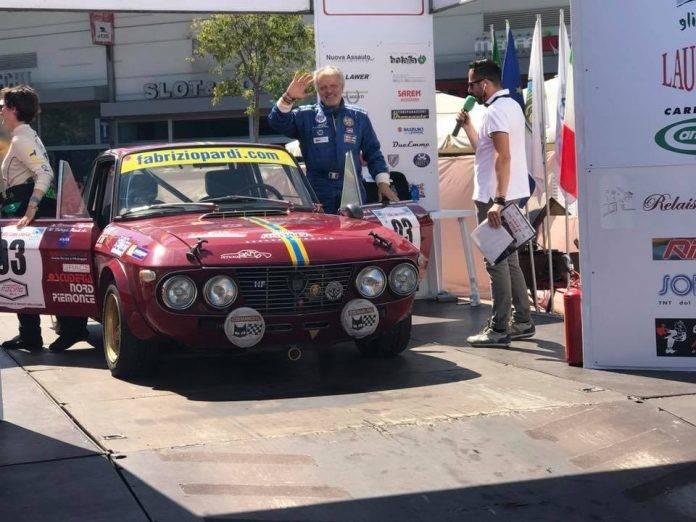 Fabrizio Pardi al Rally della Lana