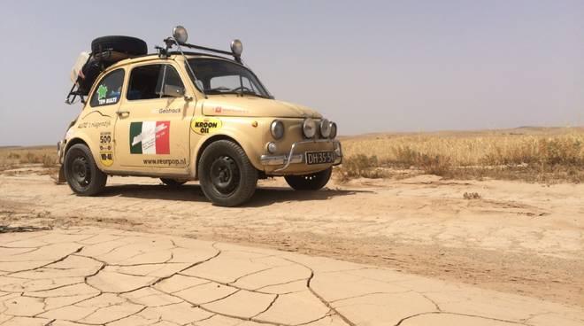 Fiat 500 storica viaggio Africa