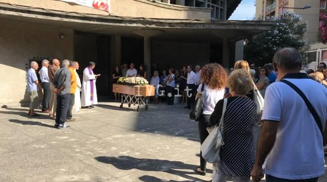 Funerale Maria Luisa Carle Chiesa San Paolo Savona