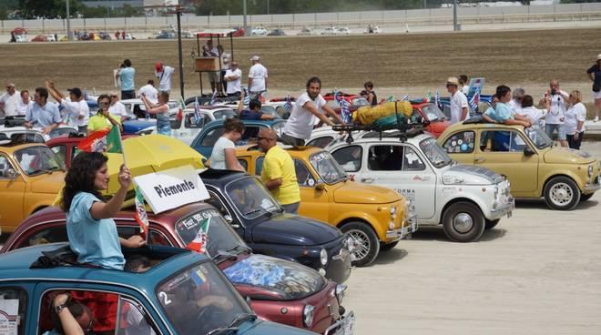 Il 34^ Meeting Internazionale della Fiat 500