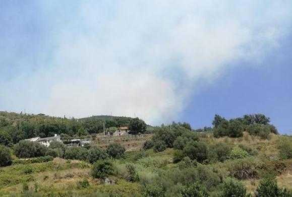 Incendi a Vesima e Sambuco, Aurelia chiusa