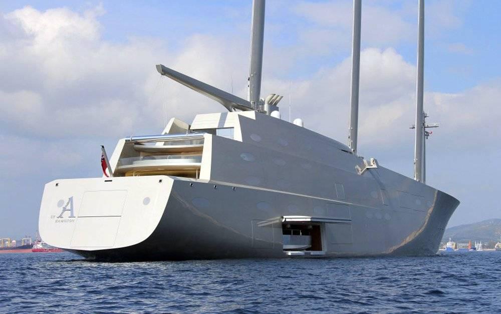 Uno dei pi grandi velieri del mondo si lascia ammirare for Classifica yacht piu grandi del mondo
