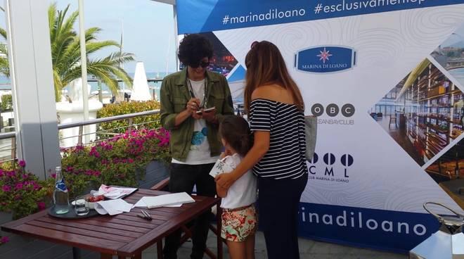 """Il """"Meet and Greet"""" di Ermal Meta a Marina di Loano"""