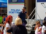 "Il ""Moving Lab"" della polizia scientifica arriva ad Alassio"