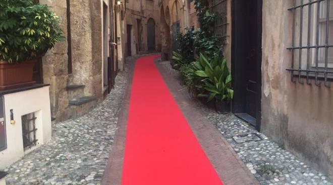 Il red carpet di Toirano