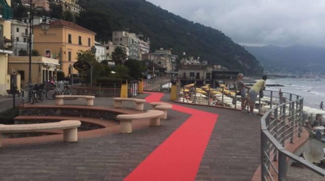 Il red carpet tra Alassio e Laigueglia