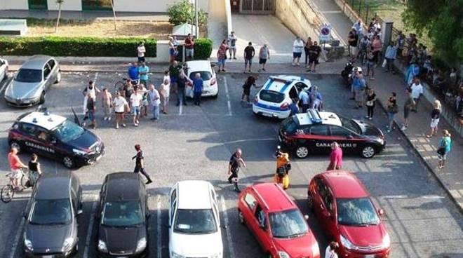inseguimento carabinieri municipale
