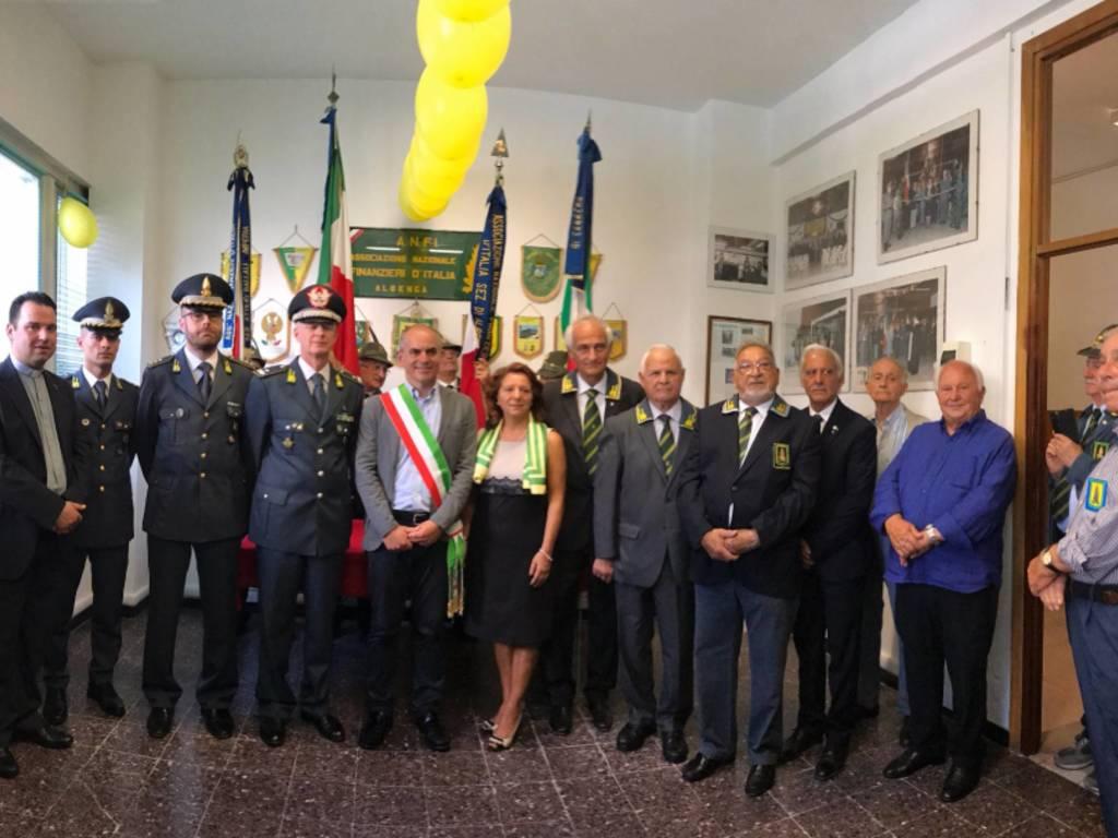 L'inaugurazione della nuova sede Anfi ed il ventennale della sezione di Albenga