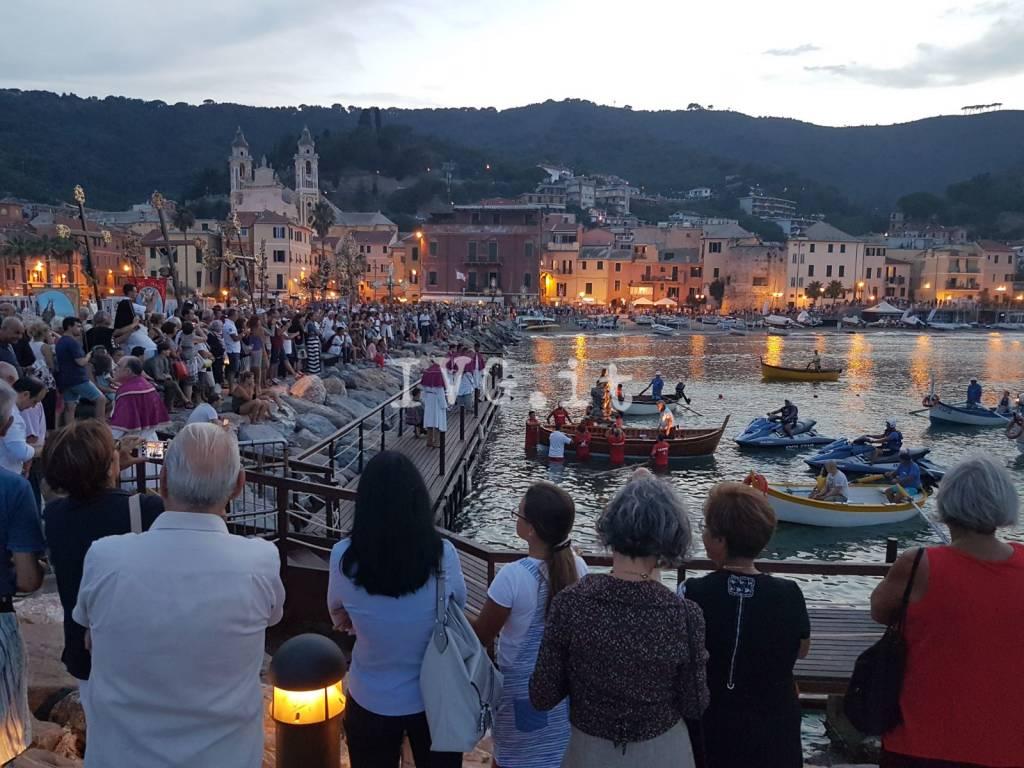 La processione di Santa Maria Maddalena a Laigueglia