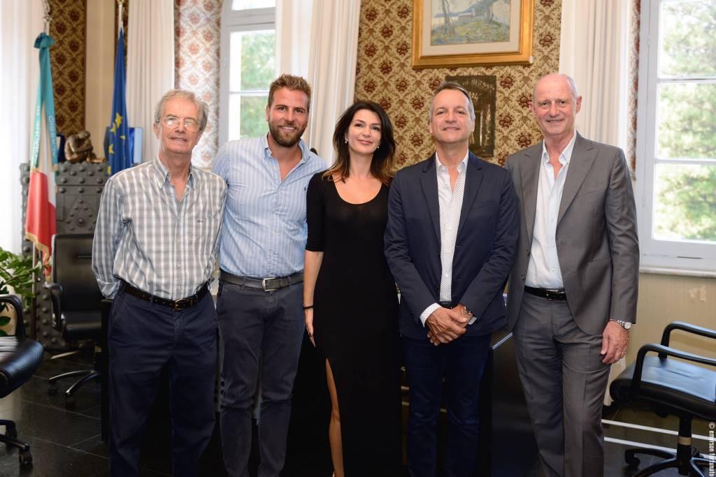 La visita del sindaco del Principato di Monaco ad Alassio