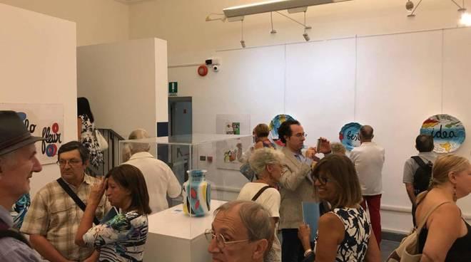 Milena Milani inaugurazione mostra centenario