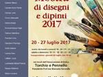 Mostra disegni dipinti Torchio e Pennello Albenga