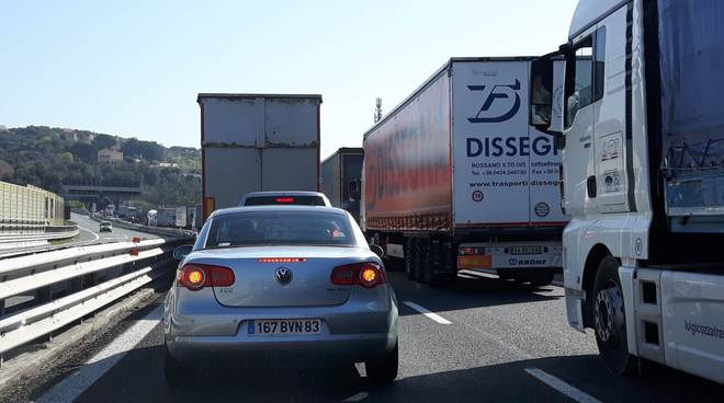 Paolo Forzano autostrada Savona Celle Ligure