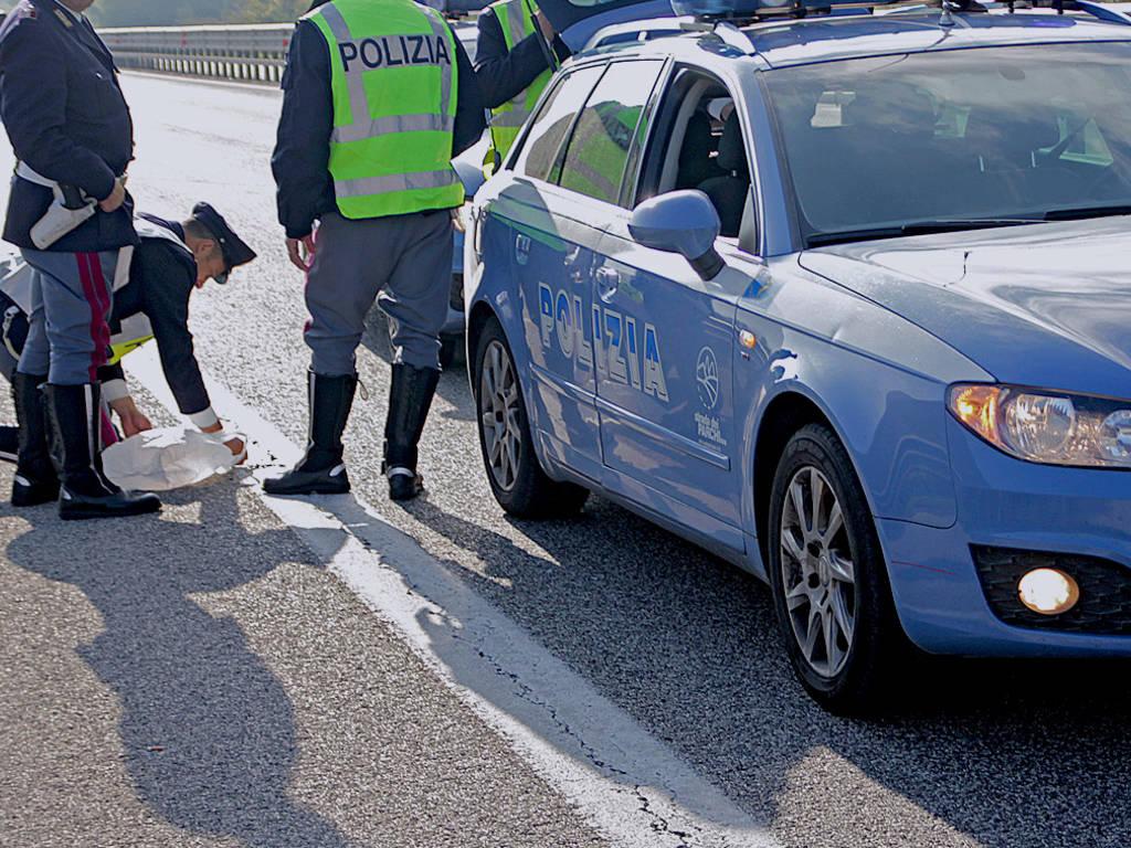 rilievi polizia stradale polstrada