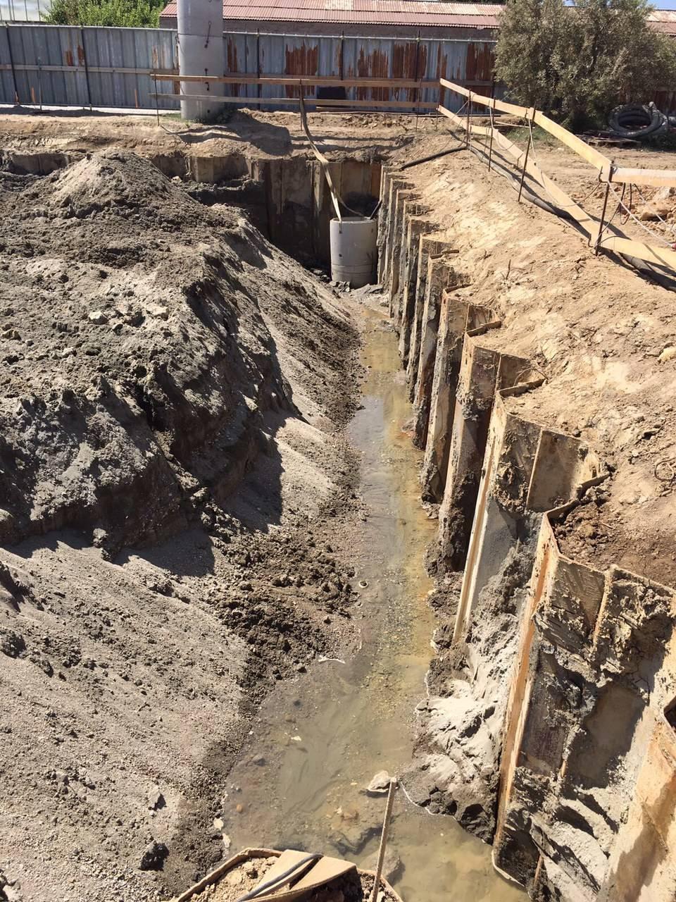 Sopralluogo cantiere depuratore Albenga