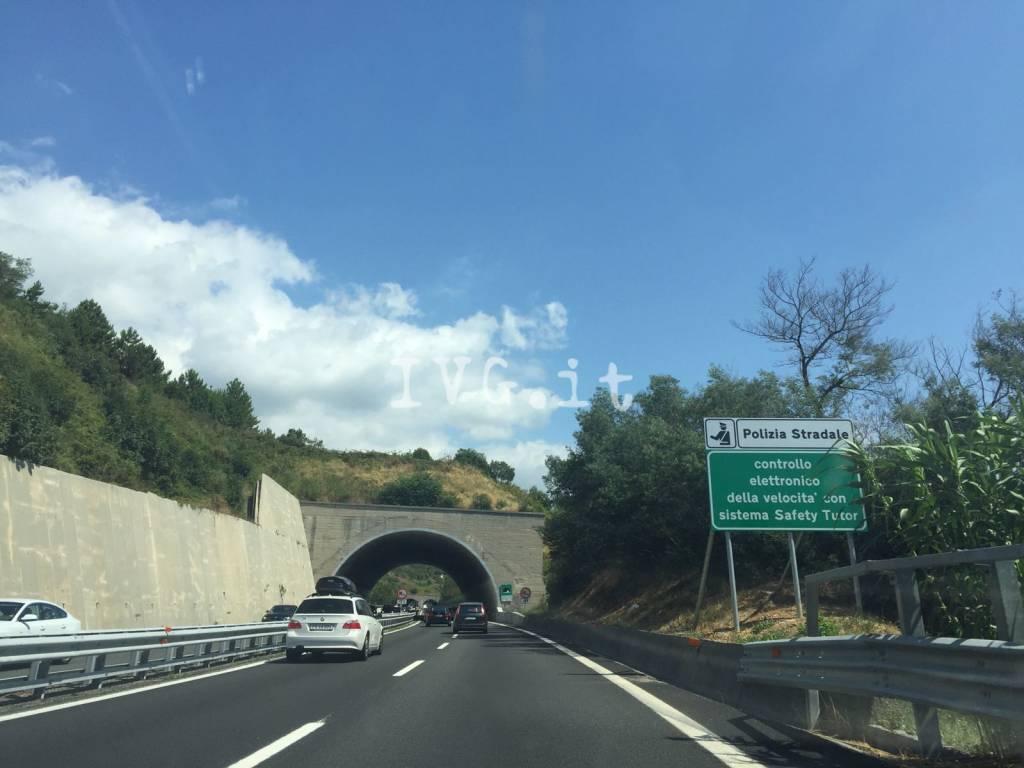 Tutor autostrada A10 Albisola Celle