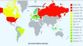 Belina mappa