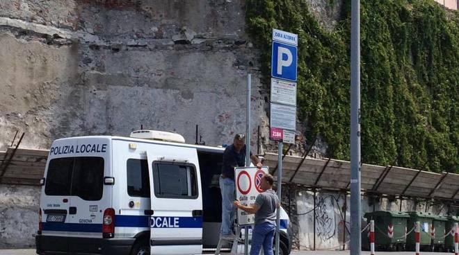 Il mercatino trasloca ai Luzzati, in corso Quadrio tornano i parcheggi