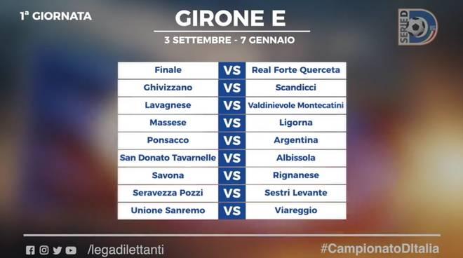 San Donato Calendario.Serie D Reso Noto Il Calendario Savona E Finale
