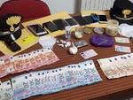 carabinieri droga soldi contante sequestro