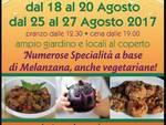 Da domani la 123° Sagra della Melanza al Circolo ARCI San Bernardo in Valle (Savona)